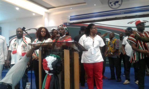 Hannah Bissiw elected NDC women's organizer