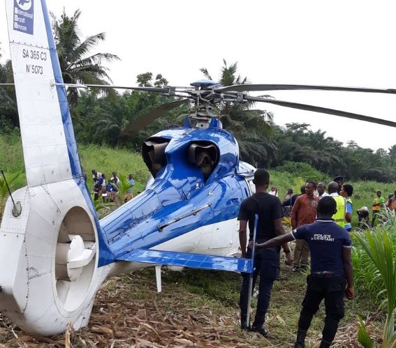 Helicopter carrying gold bars forced to land in maize farm