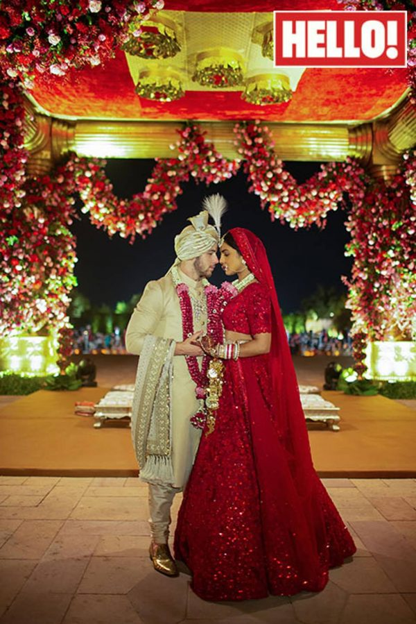 Hello Mazagine unveils Nick-Priyanka wedding photo