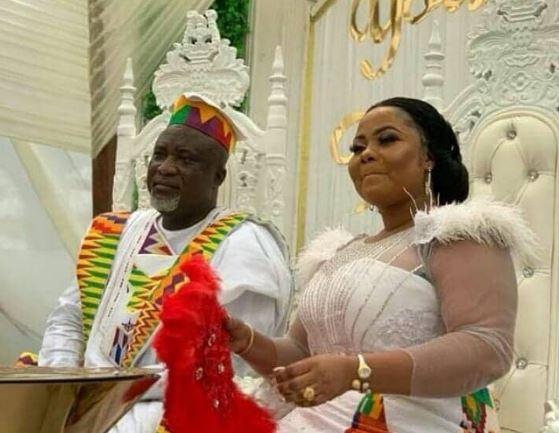 Hopeson Adorye Gifty osei wedding pictures