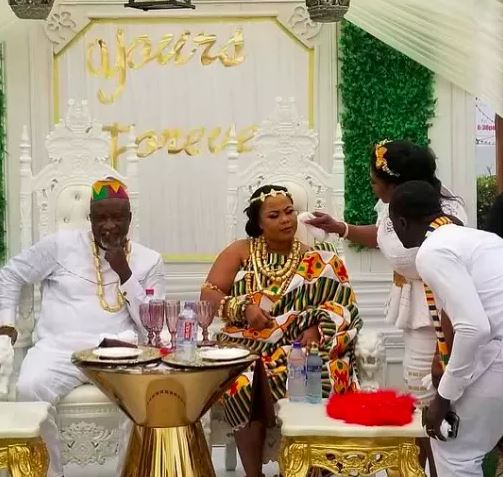 Hopeson Adorye and Gifty osei wedding photos | Airnewsonline