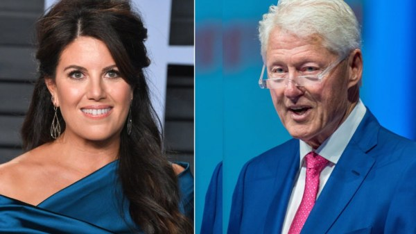 I flashed my underwear to attract Bill Clinton