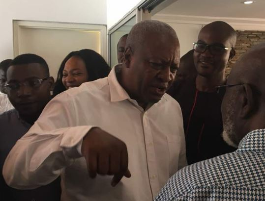I wont insult opponents in my campaign Mahama