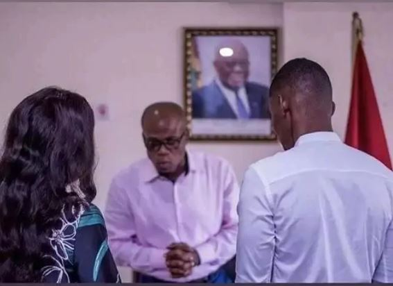 Ibrah One finally marries Dija Labelle in a private ceremony
