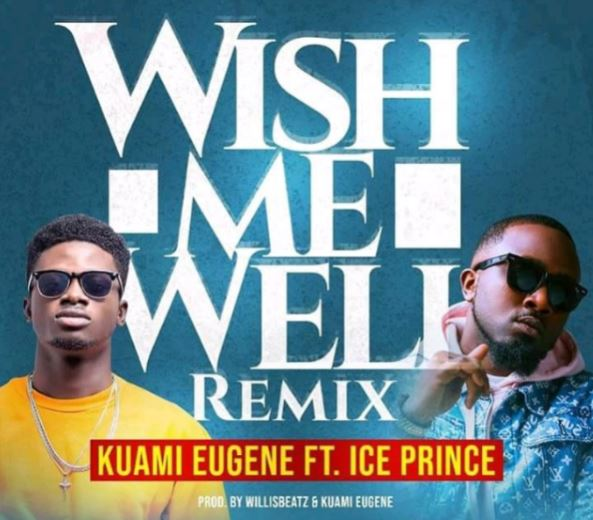 Ice Prince wish me well