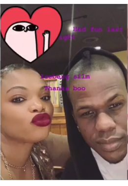 Icerberg Slim spotted with new lady Ivy