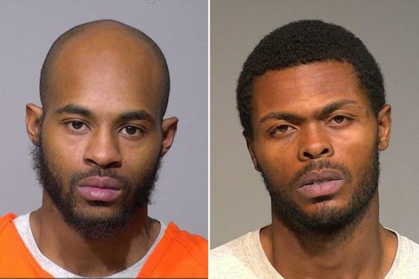 Isaac Barnes left and Untrell Oden | Airnewsonline