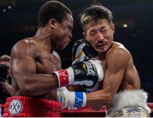 Isaac Dogboe pockets 65000 dollars after Otake knock-out