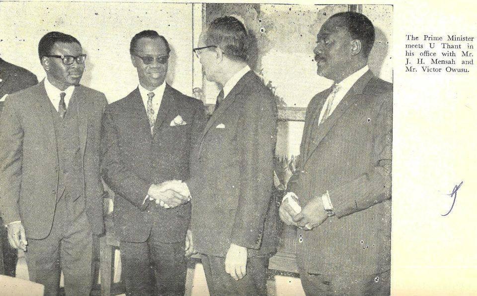 J.H Mensah archive photo