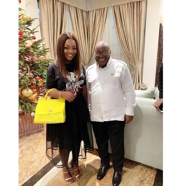 Jackie Appiah meets Akufo-Addo   Airnewsonline