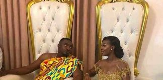 John Dumelo and wife Gifty Mawunyo
