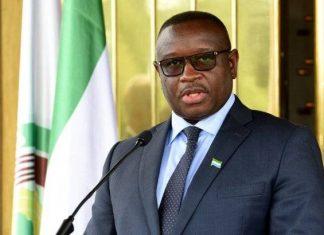 Julius Maada Bio Sierra Leone President
