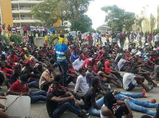 KNUST Demo Over 20 students in police custody | Airnewsonline
