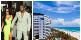 Kanye West gifts Kim Kardashian 14 million Miami Beach condo building Christmas present