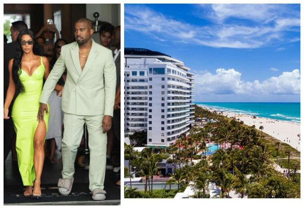 Kanye West gifts Kim Kardashian 14 million Miami Beach condo building Christmas present