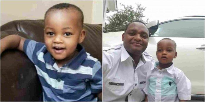 Kenyan man accidentally crushes his son
