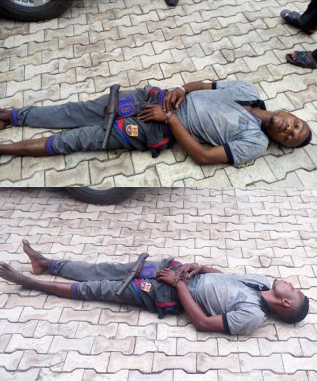 Kidnapper who took Tramadol and slept-off still sleeping