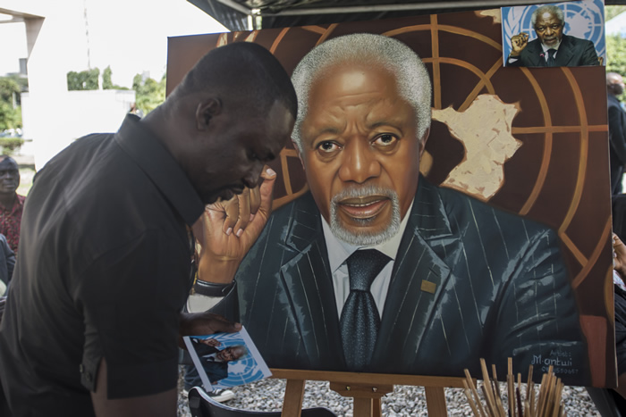 Kofi Annan state funeral in Ghana