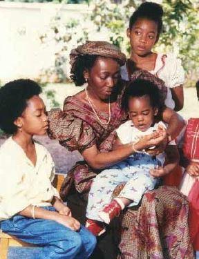 Konadu and her children
