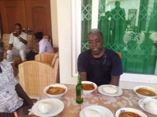 Kweku Adoboli welcomed home