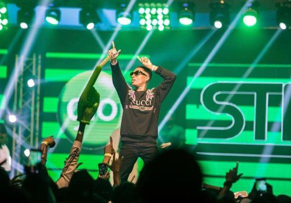 Livestreaming Glo Mega Music Show 2018 with Sarkodie, Stonebwoy, Davido, Wizkid
