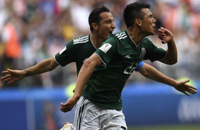 Lozano scores winner for Mexico