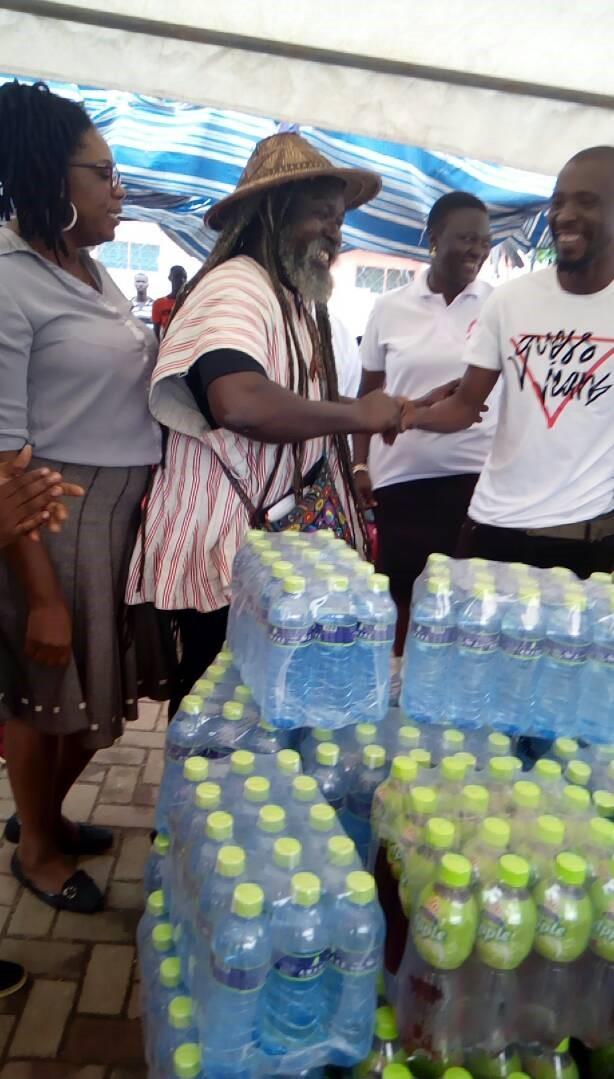 MUSIGA makes donation to Okomfo Kwadee at rehab centre