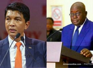 Madagascar President lauds Prez Akufo-Addo | Airnewsonline