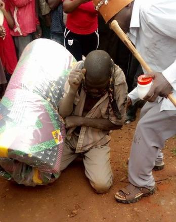 Man arrested by snake