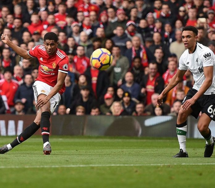 Marcus Rashford vs Liverpool
