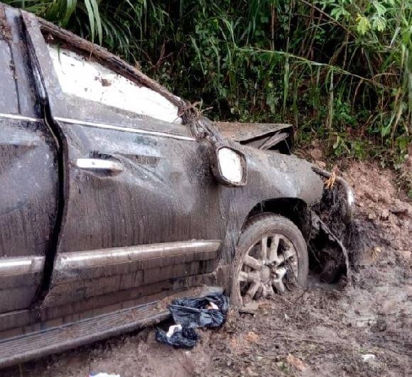Mark Woyongo survives near fatal accident