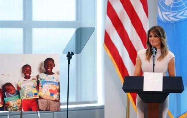 Melania Trump begins Africa trip today