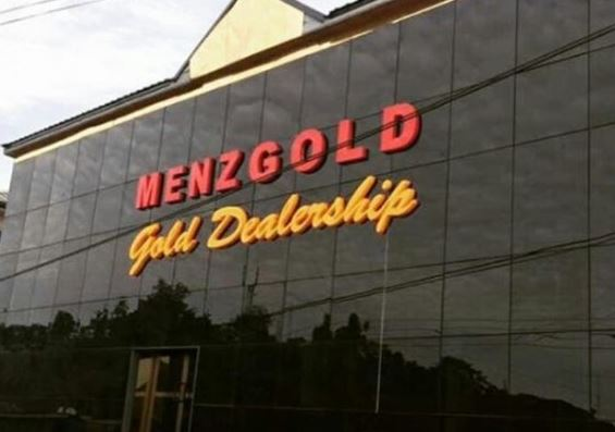 Menzgold not licenced to sell trade gold locally