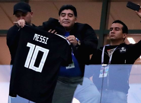 Messi is a great player but he's not a leader says Diego Maradona