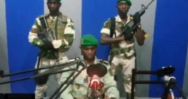 Military Coup in Gabon   Airnewsonline