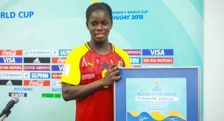 Mukarama Abdulai wins Player of the match award airnwsonline