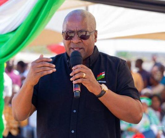 NDC solved dumsor not NPP John Mahama