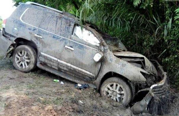 NDCs Mark Woyongo survives near fatal accident