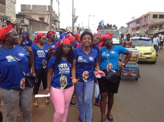 NPP Loyal ladies Ghana