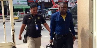 Nigerian man arrested in Cambodia