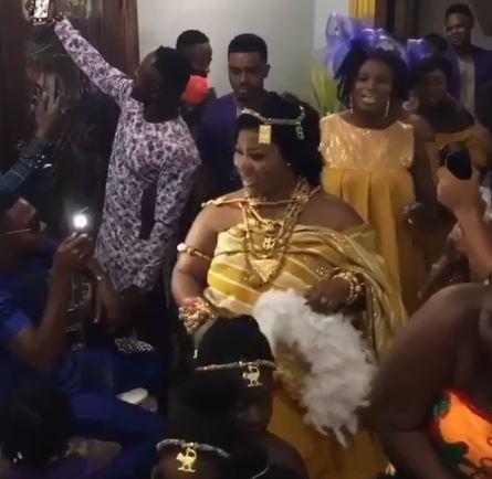 Obaapa christy traditional wedding | Airnewsonline