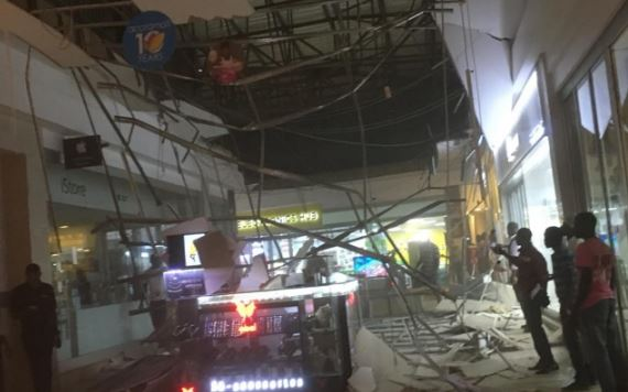 One injured as Accra Mall roof falls
