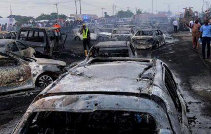 Otedola bridge fire Nigeria