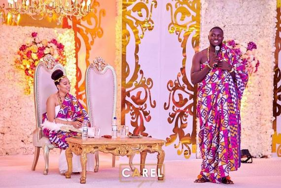 Photos of Pastor Chris Oyakhilome's daughter traditional wedding with her Ghanaian fiance airnewsonline