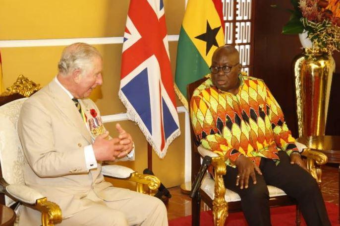 Prince Charles Camilla begin 5-Day royal visit to Ghana