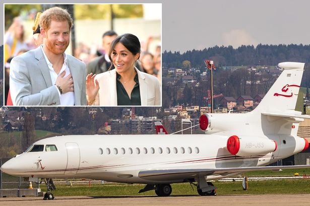 Prince Harry and Meghan Markle's £40m private jet