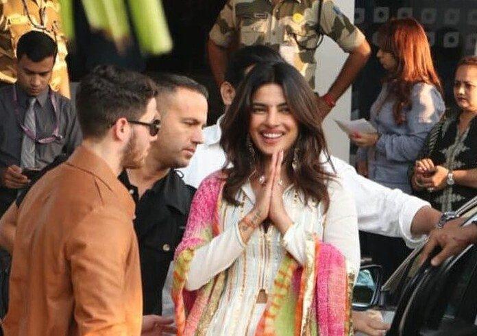 Priyanka Chopra and Nick Jonas wedding guests   Airnewsonline