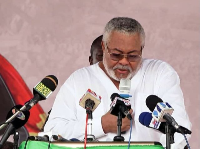 Rawlings jabs Kufuor for not promoting family planning