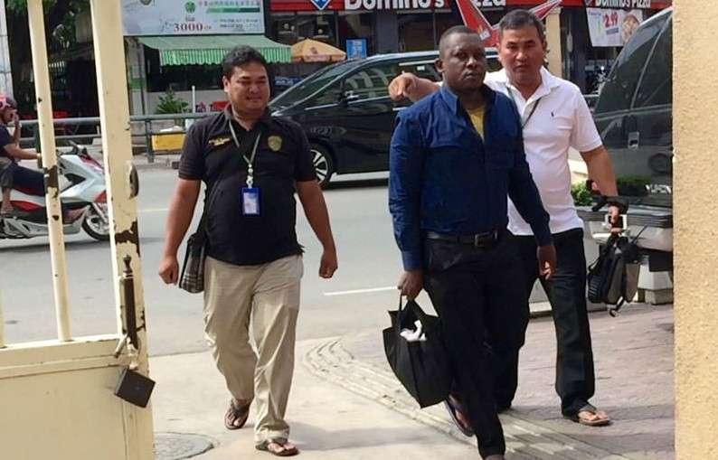 Remigius Duru Okonkwo Nigerian man arrested in Cambodia