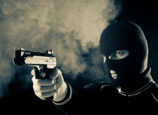 Robbers invade filling station